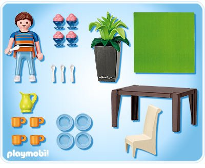 Blog de boblebrestois playmobil page 69 blog de for Salle manger playmobil