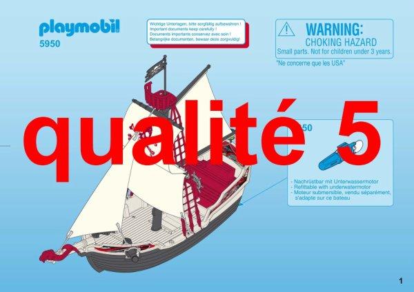 Articles de boblebrestois playmobil tagg s notice playmobil 5950 blog de boblebrestois les - Playmobil bateau corsaire ...