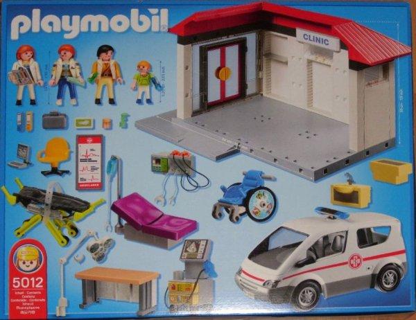 details zu playmobil 5012 klinik m notarzt u. Black Bedroom Furniture Sets. Home Design Ideas