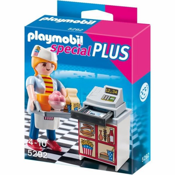Playmobil Special Plus Le Fast Food