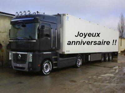 joyeux anniversaire les camions d cor s. Black Bedroom Furniture Sets. Home Design Ideas
