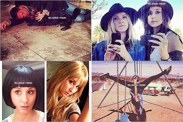 Objevte nové fotky Troian zanecháno Instagram a Twitteru