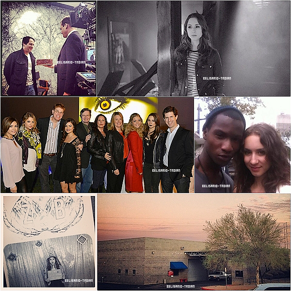 Découvrez des nouvelles photos posté par Troian ainsi que par ses co-stars doux les photos de Troian