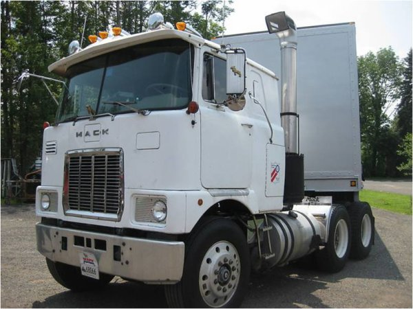 1978 mack truck f 712 st antique cabover on ebay now 4500
