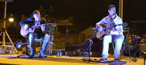 Le March� Nocturne  � tr�bes et jazz o canal en images voir lien album photos