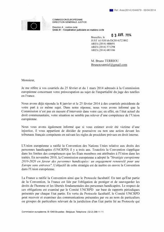 La France � des obligations envers les personnes handicap�es, confirm�es par la Commission Europ�enne de justice !!