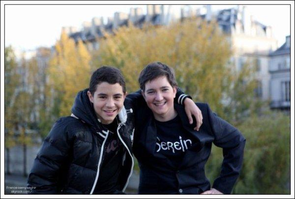 [28/10/12] Samy Seghir est Jeremy a Paris