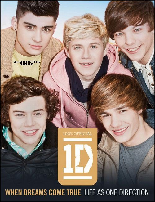 NEWS : Le deuxi�me livre officiel des 1D intitul� �When dreams come true life as One Direction� sortira en septembre.