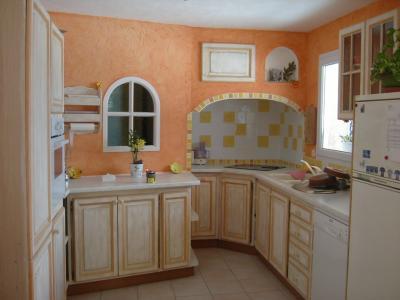 Cuisine r nov e un atome de couleur for Peinture meuble cuisine v