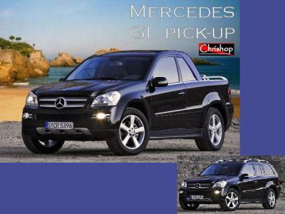 mercedes gl pick up tous mes photoshops. Black Bedroom Furniture Sets. Home Design Ideas