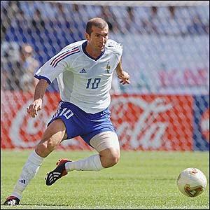 L 39 equipe de france et zizou 5 pour zizou - Equipe de france coupe du monde 2002 ...