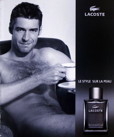 analyse d 39 une publicit pour un parfum lacoste masculin blog de tpe2010trevoux. Black Bedroom Furniture Sets. Home Design Ideas