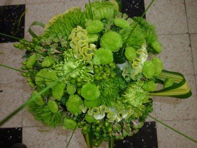 Bouquet de fleur vertes soleil de minuit for Bouquet de fleurs 6 lettres