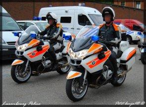 moto bmw police luxembourg petit benja118 le monde des