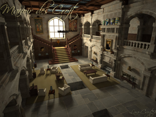 tomb raider legend manoir croft