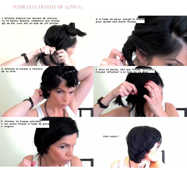 Rubrique coiffure pour les f tes easyhair version indienne - Coiffure pour les fetes ...