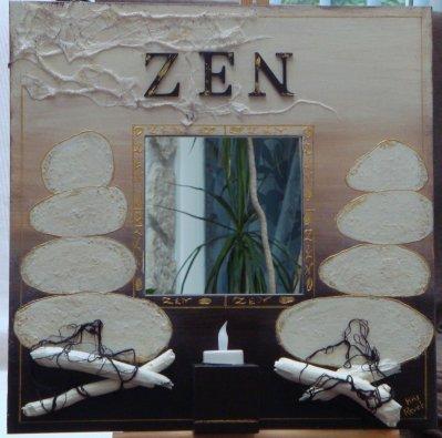 40 x 40 miroir zen tableau bouddha 40x50 tableau zen 50x50 for Miroir zen nature