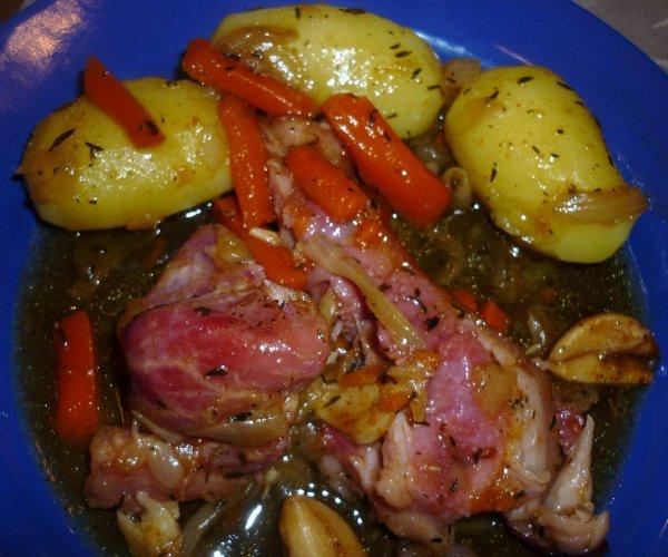 Jarret de porc demi sel confit aux pices id es de - Cuisiner un jarret de porc ...