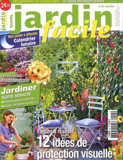 jardin facile magazine mois de mai 2010 les coups de coeur d 39 ingrid. Black Bedroom Furniture Sets. Home Design Ideas