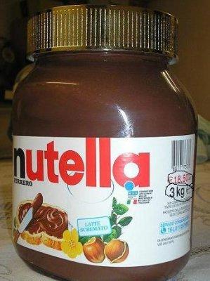 le plus gros pot de nutella p se blog de x nutella x 06. Black Bedroom Furniture Sets. Home Design Ideas