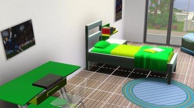 La maison container : les 3 chambres et la salle de jeux