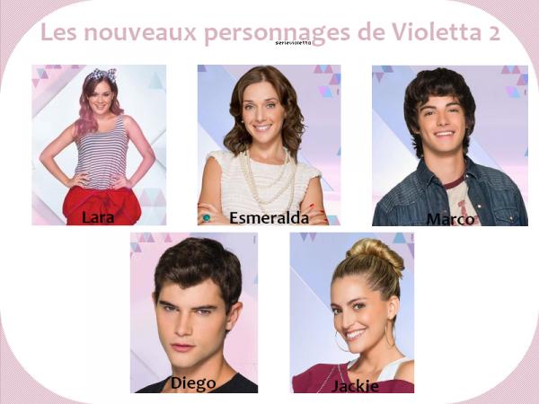 Les nouveau personnage de violetta blog de themllevioletta - Violetta saison 2 personnage ...