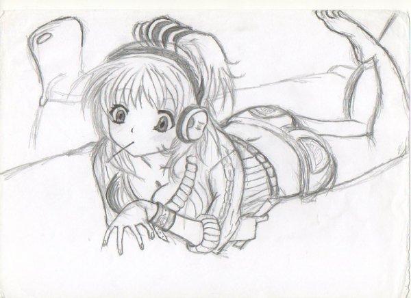 Blog de fan de manga95 blog de fan de manga95 - Dessin fille manga ...