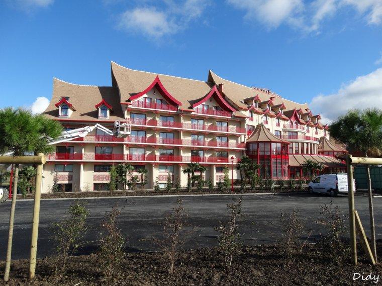 Nouvel h tel les pagodes de beauval entrer dans l for Appart hotel zoo de beauval