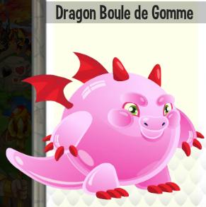 Dragon boule de gomme