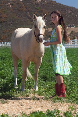 LA PRINCESSE ET LE PONEY 2010