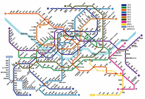 Plan De Metro Seoul | Subway Application
