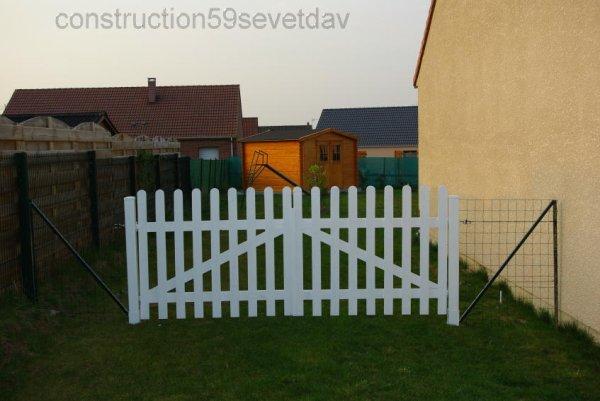 Barriere 25 03 2011 blog de construction59 sev et dav for Porte barriere jardin