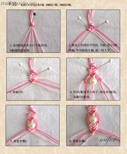 Bracelet au macram - Comment faire une suspension en macrame ...