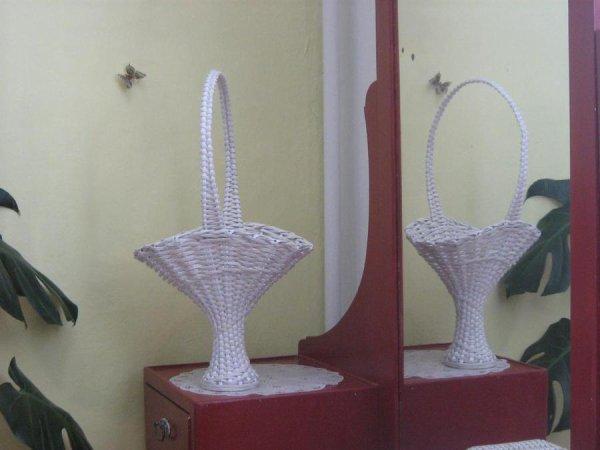 bricolage avec du papier journal les cr ations de salvina. Black Bedroom Furniture Sets. Home Design Ideas
