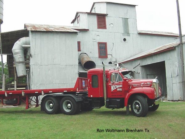 Mack Trucks B61 Models : Mack b woltmann brenham texas usa american trucks