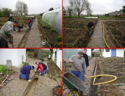 Drainage du terrain blog de l 39 a s b l r gie des quartiers du bizet - Comment drainer un terrain ...