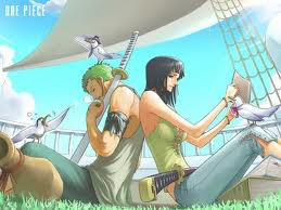 Nami et Luffy