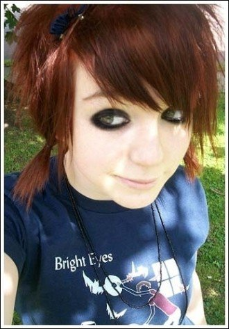 Short Emo Hairstyles Photos Emo Hairstyles For Girls