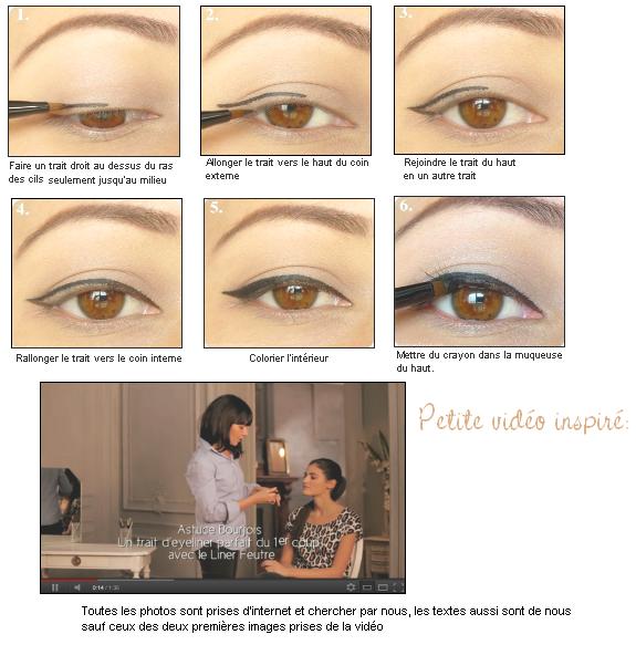 Comment mettre l 39 eye liner - Comment mettre de l eye liner ...