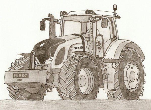 Dimension garage coloriage tracteur agricole - Dessin a imprimer de tracteur ...
