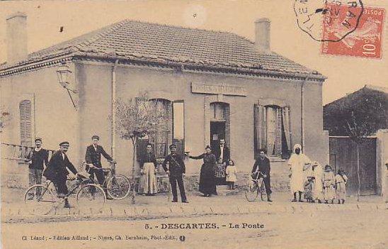 DESCARTES : Cartes postales dénichées sur DELCAMPE - LAMTAR'S BLOG