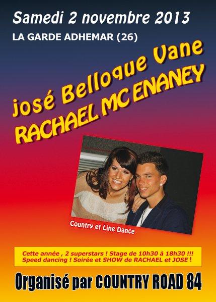 RACHAEL ET JOSE LE 2 NOVEMBRE 2013 A LA GARDE ADHEMAR