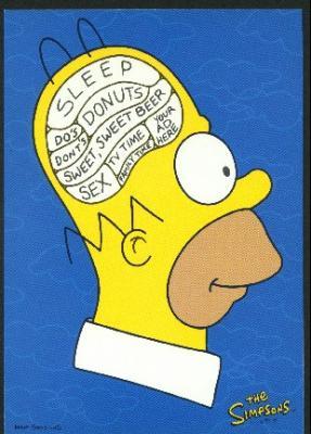 Homer Simpson Cerveau