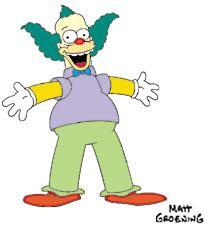 Krusty le clown les simpson en force - Simpson le clown ...