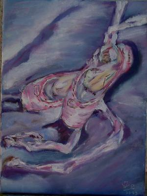 Les Chaussons De Danse Blog De V Ro Passionn E De Peinture