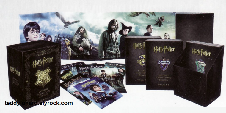 le nouveau coffret dvd harry potter mini wizard collection. Black Bedroom Furniture Sets. Home Design Ideas