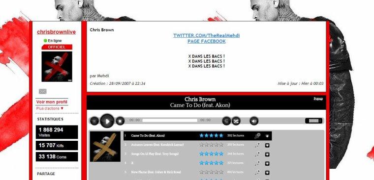 4 000 articles sur ChrisBrownLive !