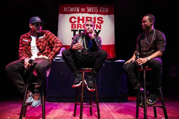 """Chris Brown et Trey Songz annonce la tourn�e """"Between the sheets"""""""