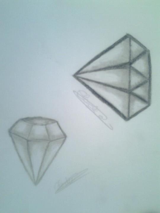 Diamant tatouage publier un dessin c 39 est comme monter - Diamant dessin ...