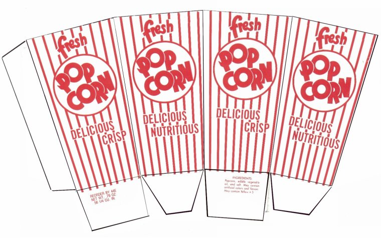 Patron de pop corn pour realis ses magnifique boite - Soda pdf gratuit ...